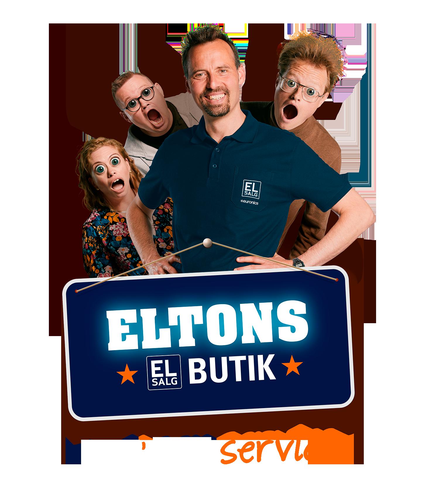 ELTONS butik - det´ sgu service - EL-Salg - køb hvidevarer og forbruger elektronik